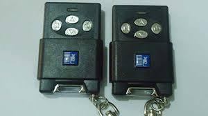 Remote cửa cuốn Austdoor 4 nút